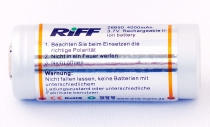 Riff Rechargeable Li-Ion Battery for Riff TL-3000, TL-4000